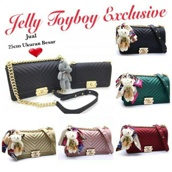 9c1f278e45b1 Tas Jelly TOYBOY Salur uk 25