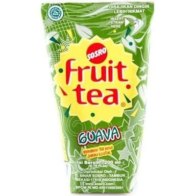 harga Fruit tea guava/jambu 200ml Tokopedia.com