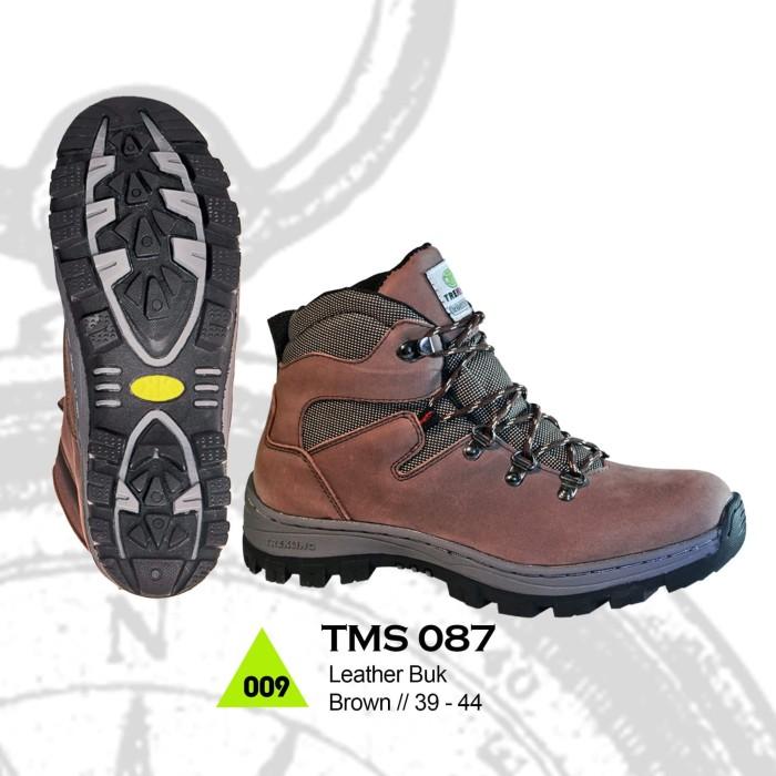 Sepatu Gunung BootsHiking Trekking Pria Wanita TMS087 JSO Original -  Cokelat d650f05e70
