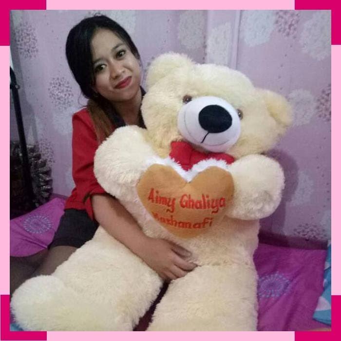 Boneka Keropi Lucu Bordir Love Nama Murah - Smart4K Design Ideas 93ffd449bf