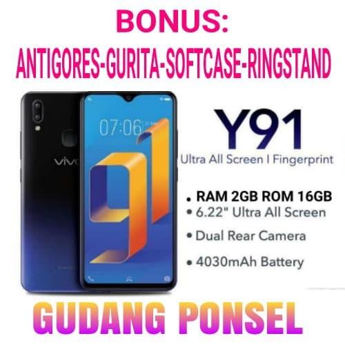VIVO Y91 RAM 2GB ROM 16GB GARANSI RESMI VIVO