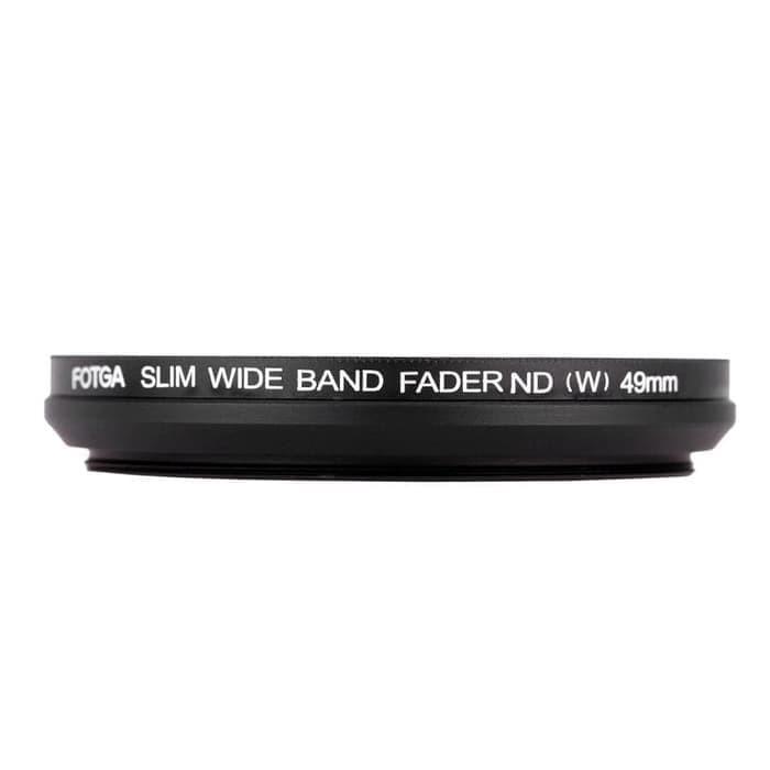Foto Produk FOTGA 49mm 52mm Slim Fader Variable ND Filter ND2 To ND400 dari mardisin