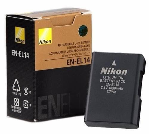 Foto Produk Baterai / Battery Nikon EN-EL14 untuk DSLR Nikon D3100, D3200, D5100 dari mardisin