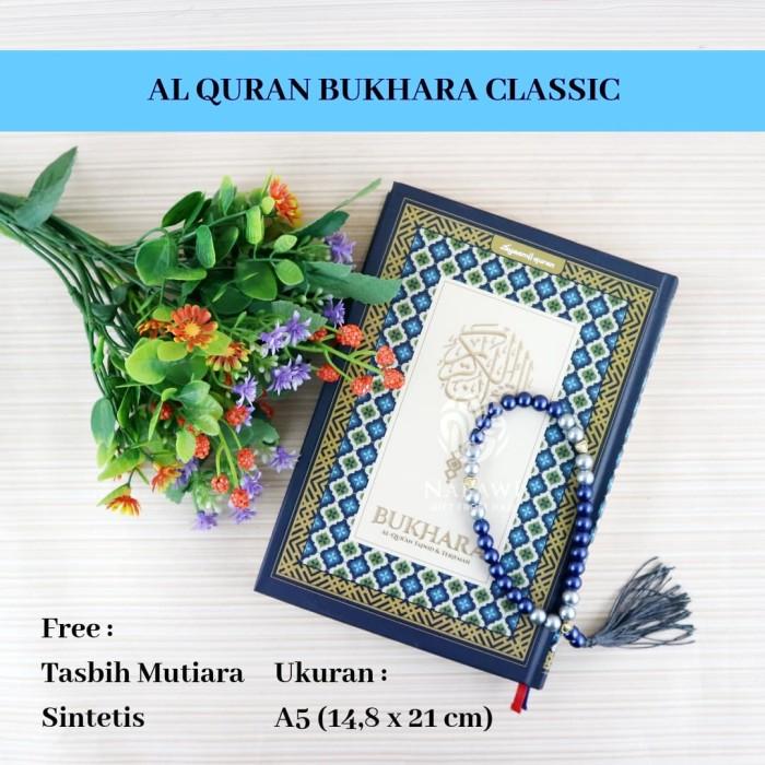 Jual Al Quran Bukhara Classic Tajwid Warna Terjemah A5 Free Tasbih Cantik Kota Surabaya Toko Buku Kitab Nabawi Tokopedia