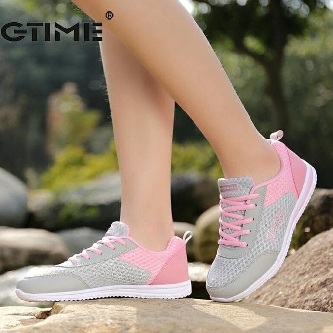 Jual Sepatu Kets Fh Joice (Pink) - Merah Muda ee6442e58b