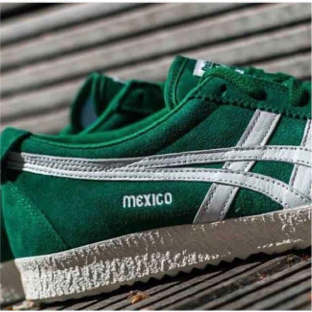 "new product e66dd 6a55f Jual ASICS ONITSUKA TIGER MEXICO 66 DELEGATION ""GREEN/WHITE"" ORIGINAL -  Kota Malang - banyupeceren | Tokopedia"