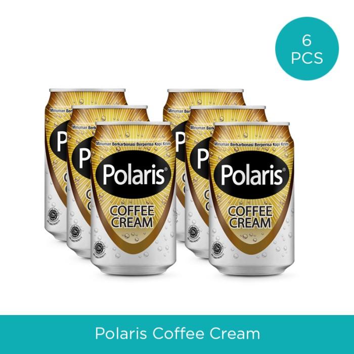 harga Polaris coffee cream [6 kaleng] Tokopedia.com