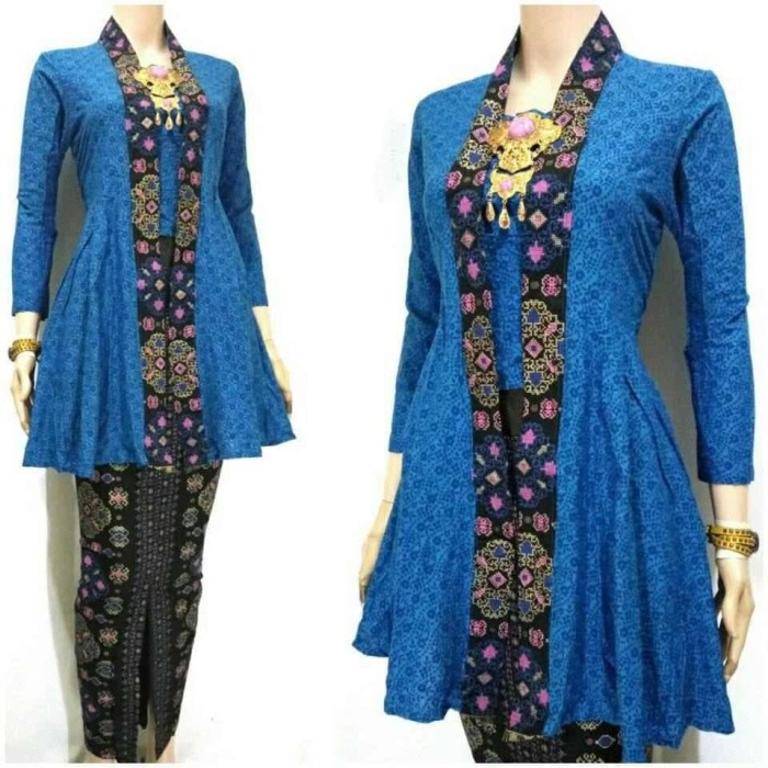 Jual Baju Batik Wanita Dewasa Model 10 - salman12store  bfb782ed51