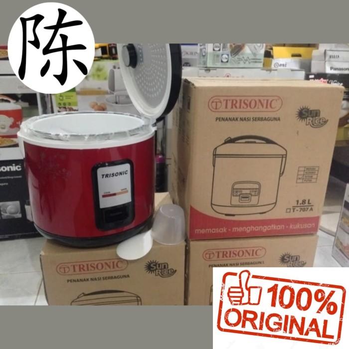 ... harga Rice cooker / magic com 3in1 trisonic 18 liter / 1.8 liter - t707b Tokopedia