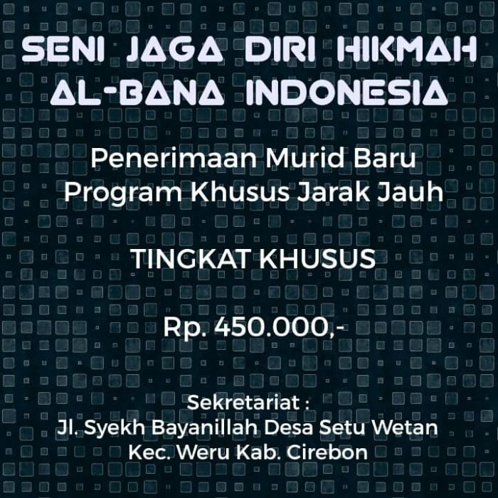 Jual gemblengan Tk  Khusus - Kab  Cirebon - SJDH AL-BANA INDONESIA |  Tokopedia