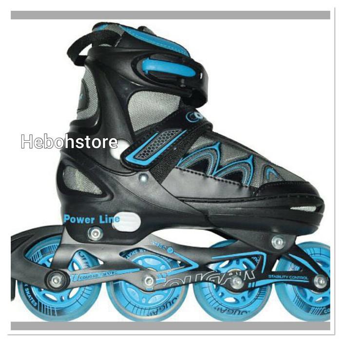 harga Sepatu roda inline skate cougar line original Tokopedia.com