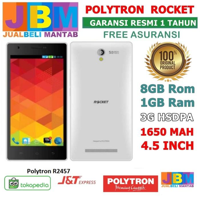 harga Promo hp murah android murah cuci gudang - polytron rocket 4.5 inch Tokopedia.com