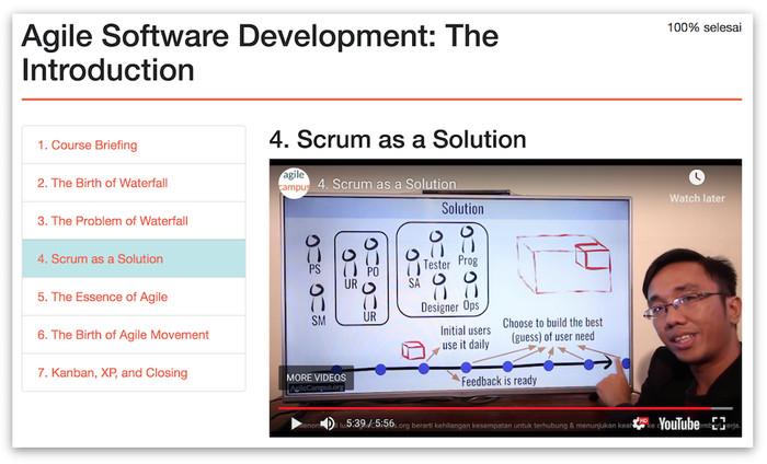 Foto Produk Agile Software Development: The Introduction dari Agile Campus