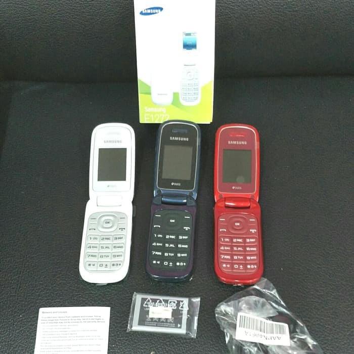 harga Hp samsung lipat caramel gt-e1272 handphone samsung caramel flip e1272 Tokopedia.com