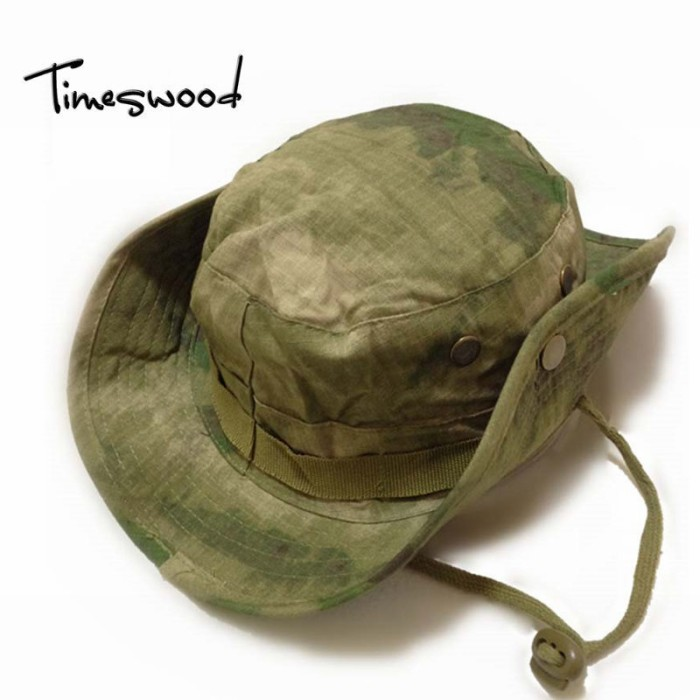 Jual Topi Buket Impor Kamuflase Hitam ACU Hutan Digital Boonie Topi ... 6ddfb8c83a