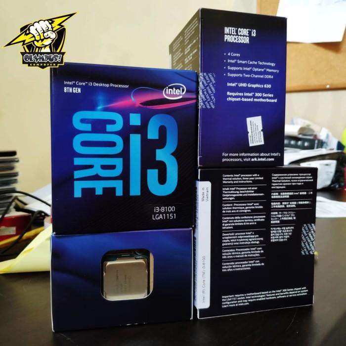 harga Processor intel core i3-8100 boxed prosesor coffee lake (80684i38100) Tokopedia.com