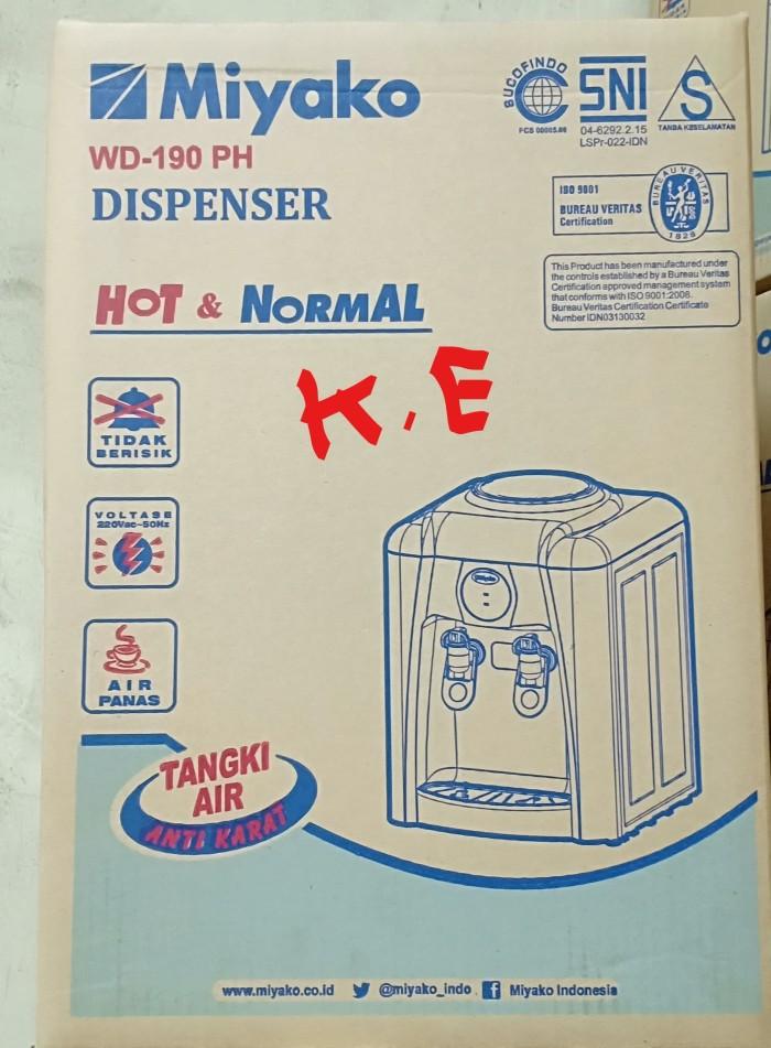 harga Miyako dispenser garansi hot & normal wd - 190 ph / wd-190ph Tokopedia.com