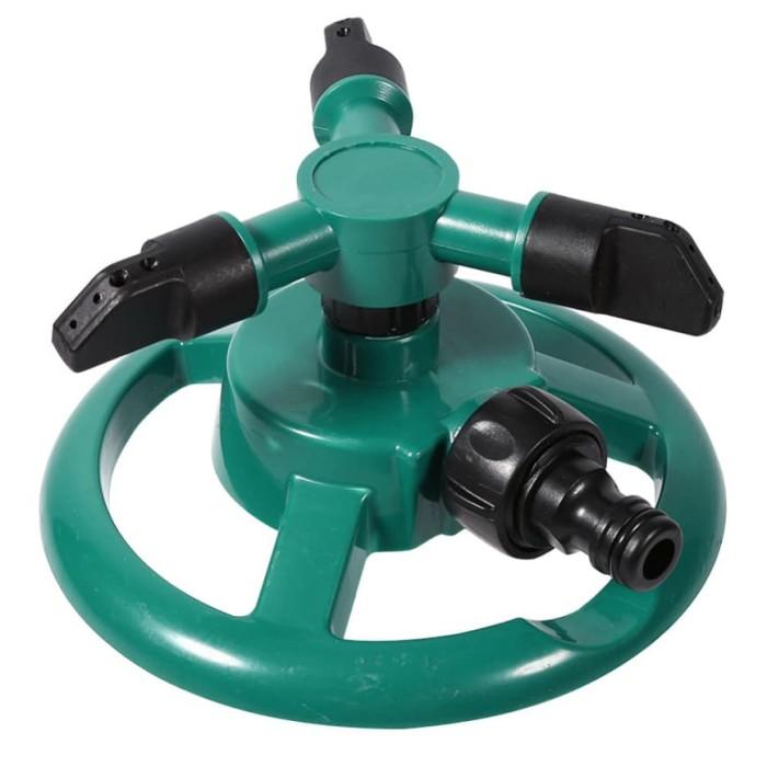 Round Sprinkler Air Taman 360 Derajat Full Set - YY107943 - Green