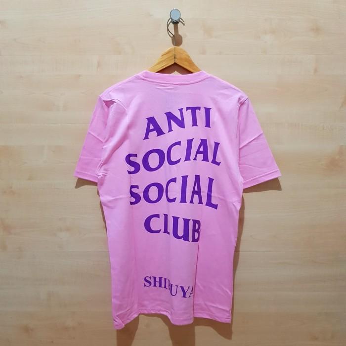 f14431af4245 Jual KAOS T SHIRT ANTI SOCIAL SOCIAL CLUB ASSC SHIBUYA PINK - VANZ ...