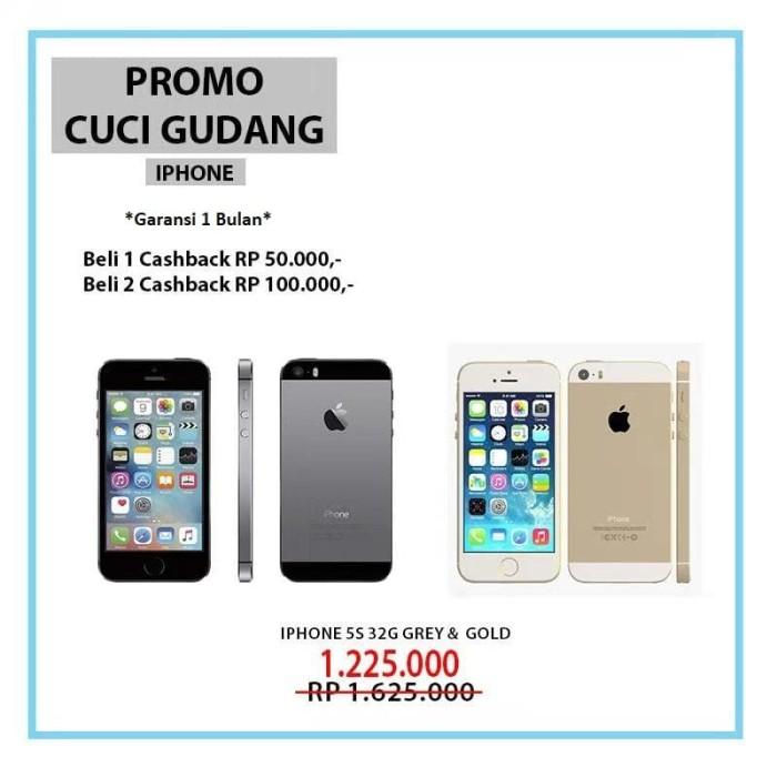 Apple Iphone 5s 32gb Gold Grade A Garansi 1 Tahun Distributor ... 2ffde1bab2