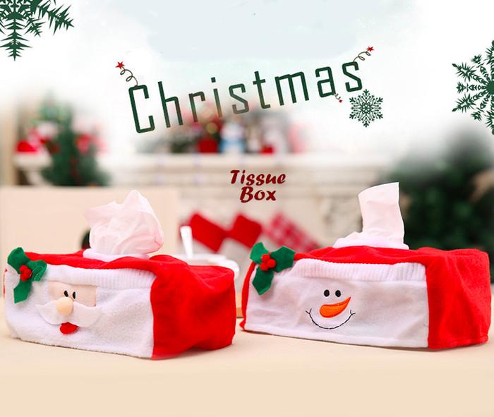 harga Perlengkapan natal sarung tempat tissue motif santa Tokopedia.com