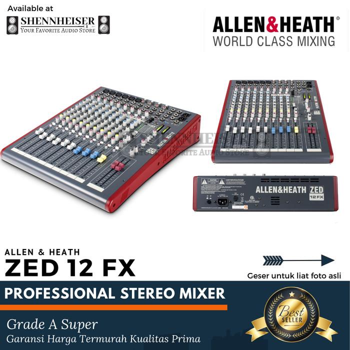 harga Mixer allen&heath zed 12 fx Tokopedia.com