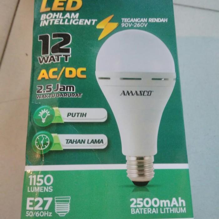 Jual Lampu Led Emergency Lampu Darurat Lampu Magic 12w Amasco Kota Surabaya Rafa Cs Tokopedia