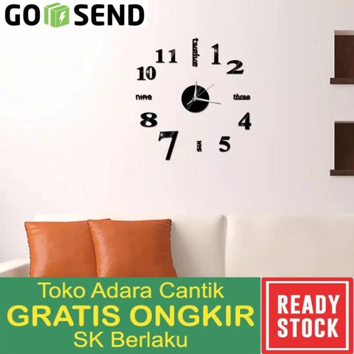 Jam Dinding Besar Raksasa Wall Clock DIY Jam Antik Unik Dekorasi Kado 8cf505a512