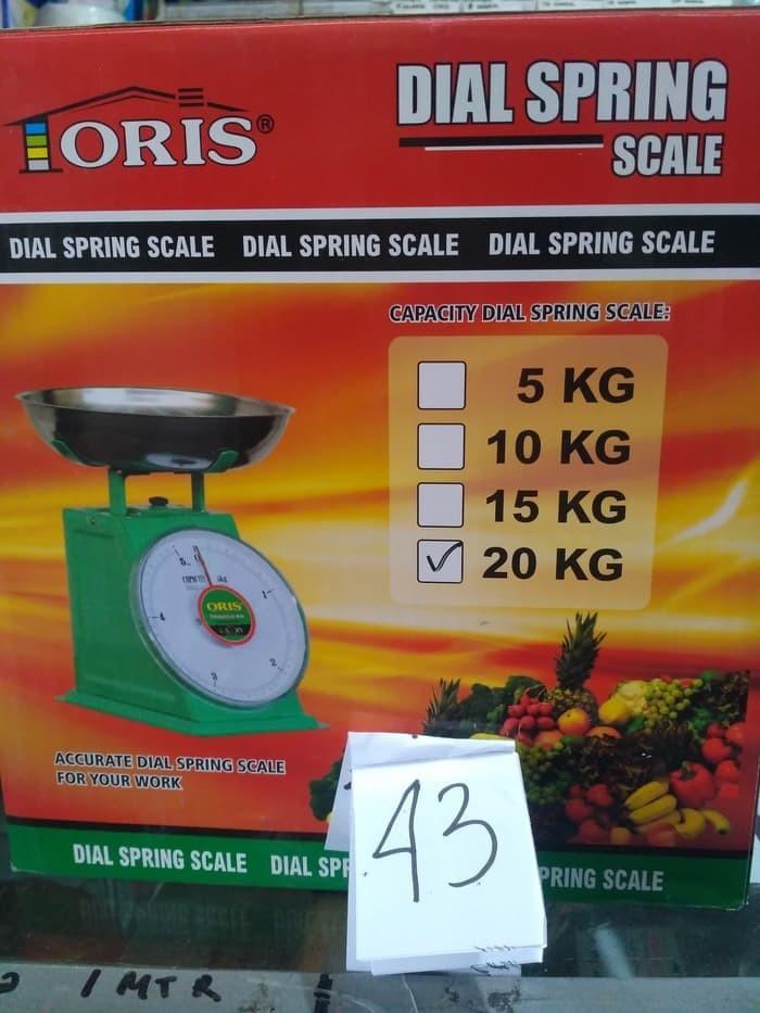 Jual New Timbangan Duduk 20 Kg Dial Spring Scale Loris Ukur Berat Barang Kota Depok Spirite Shop Tokopedia