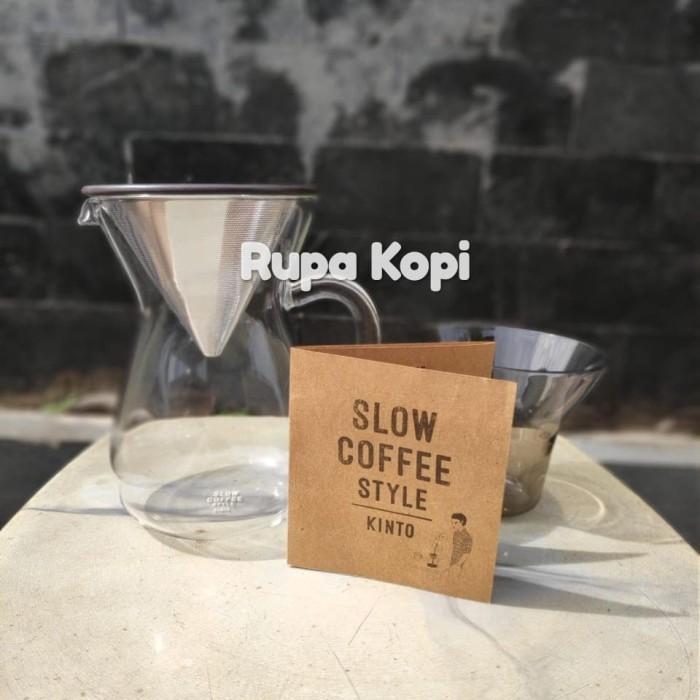 harga Kinto carafe stainless steel - 300 ml / pour over coffee set Tokopedia.com