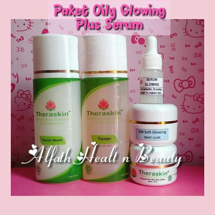 Paket Therakin Oily Glowing Liposom Plus Serum