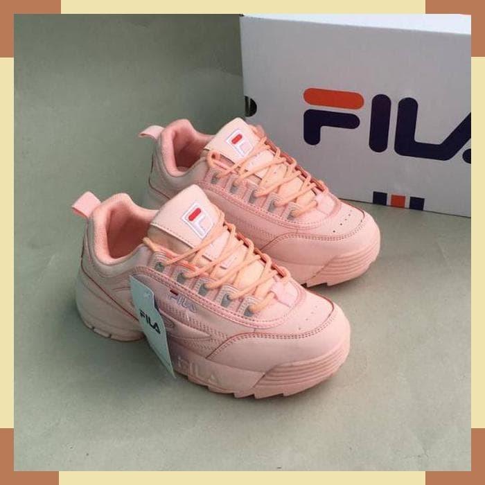 Jual Sepatu Fila Disruptor 2 Women FULL PINK Size 37-41 Import Made ... b8a86491c7