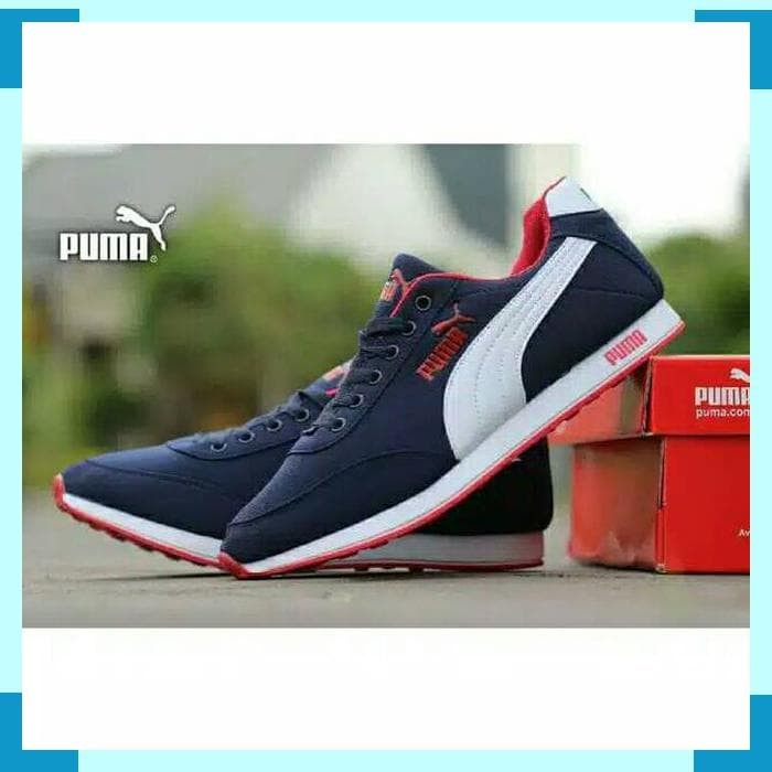 Jual PROMO!!! Sepatu Puma Classic Suede Sneakers Kasual Pria Skate ... dc4b2e9565