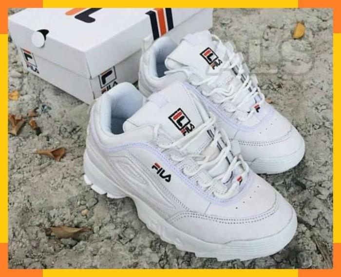 Jual Sneakers Cewek Fila Disruptor ff5d9c73b3