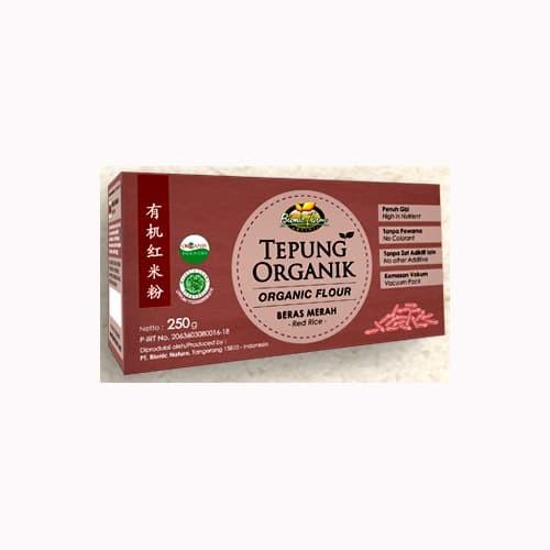 harga Tepung beras organik bionic farm mpasi - tepung gasol - beras merah Tokopedia.com