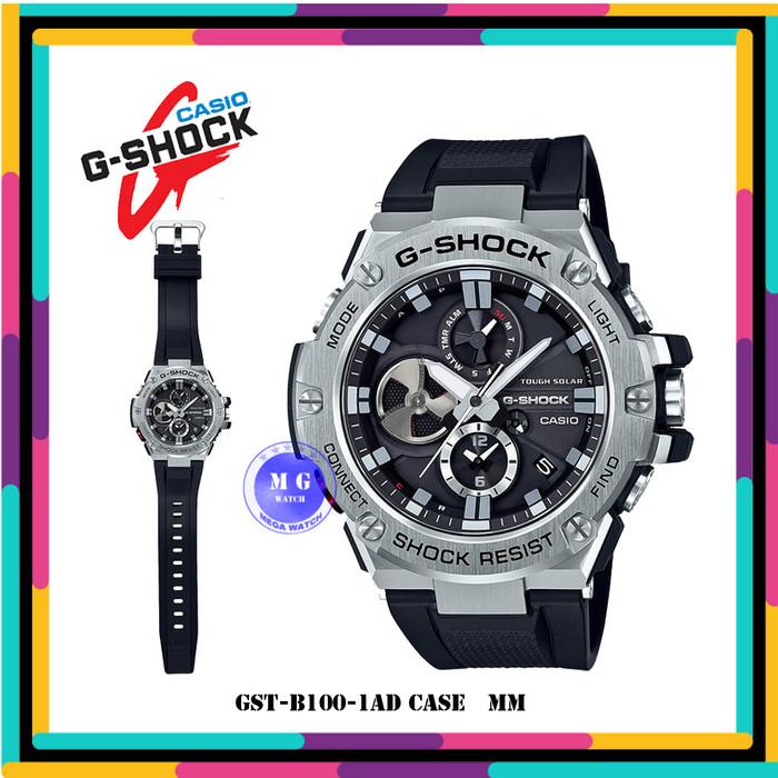 Jam Tangan Pria CASIO G-SHOCK Original GST-B100-1A GST B100 1AMurah