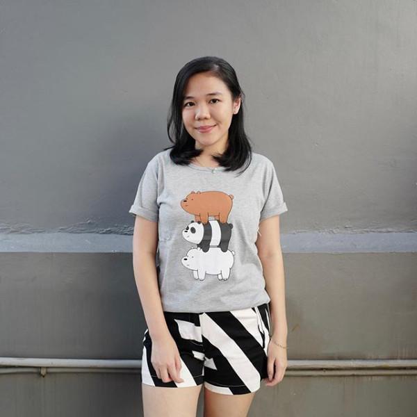 harga Baju kaos cewe wbb tumblr tee t-shirt cotton size l Tokopedia.com