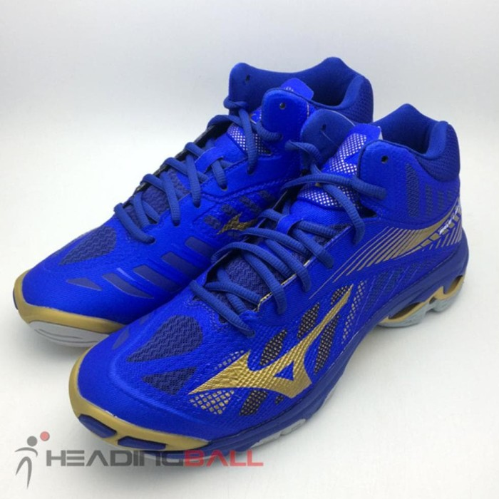 Sepatu Volley Mizuno Original Wave Lightning Z4 Mid Blue V1ga180551 ... 2ecba3499a