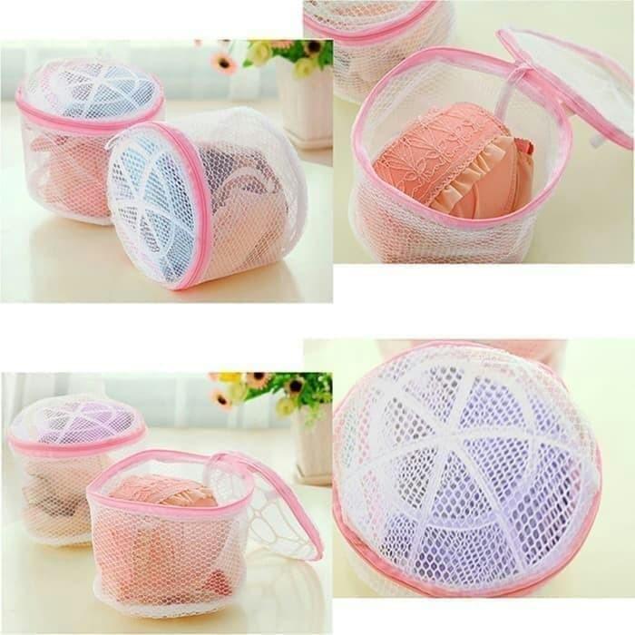 Foto Produk Kantong Cuci Bra Mesin Keranjang Pakaian Laundry bag bra double layer dari rejeki shop