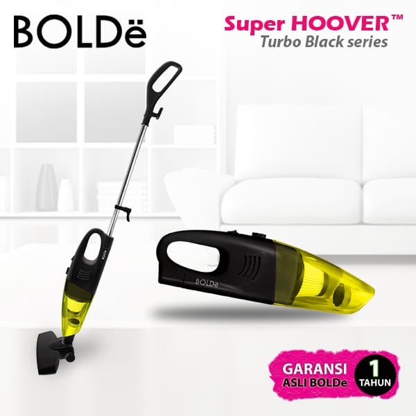 Super Hoover Turbo Black Yellow Series - Blanja.com