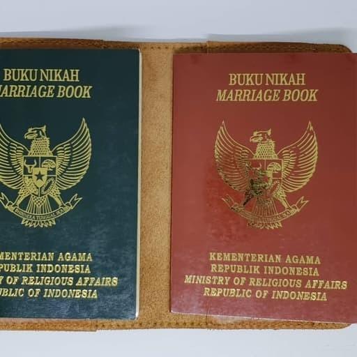 Jual Cover Buku Nikah Kulit Pull Up Kota Yogyakarta Lindzhop Tokopedia