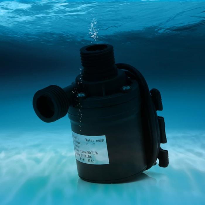 Jual Pompa Air / Udara Mini Aquarium Ikan Submersible Pump ...