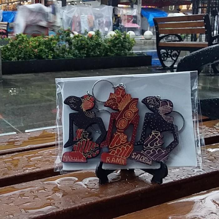Foto Produk Souvenir Yogyakarta Gantungan Kunci Batik Wayang dari RAFANIA SOUVENIR JOGJA