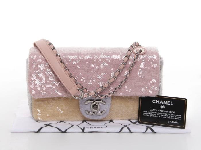 c73810338937 Jual Chanel Sequin Flap Bag - Kota Batam - Tas Iyak | Tokopedia