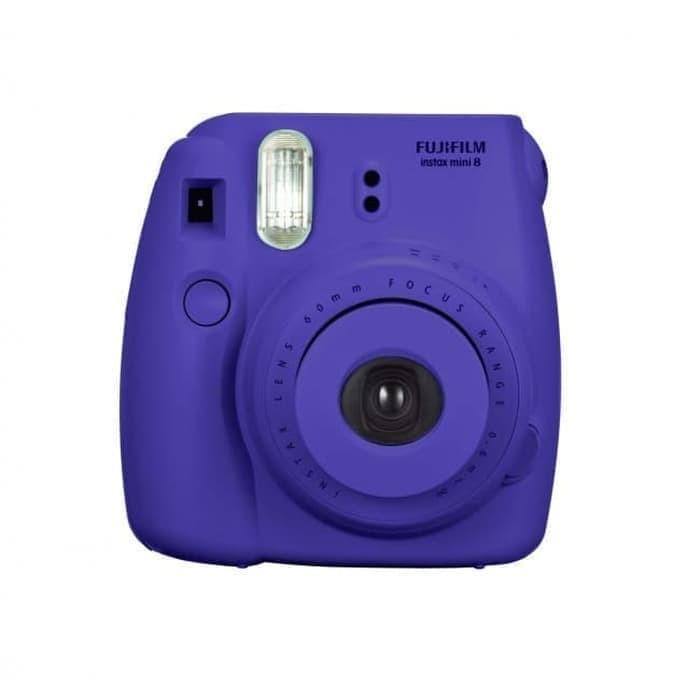 Fujifilm Instax Polaroid Mini 8 UNGU PURPLE BARU