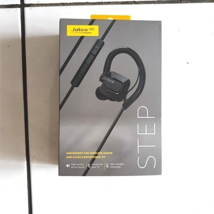 Jabra Step Wireless Earset (HITAM)/ sport bluetooth headset