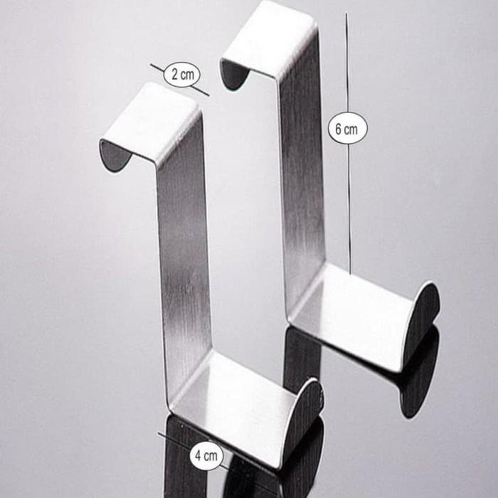 Gantungan Pintu Tanpa Paku Isi 2 Pcs Set - Daftar Harga Terlengkap ... 0e89b01543