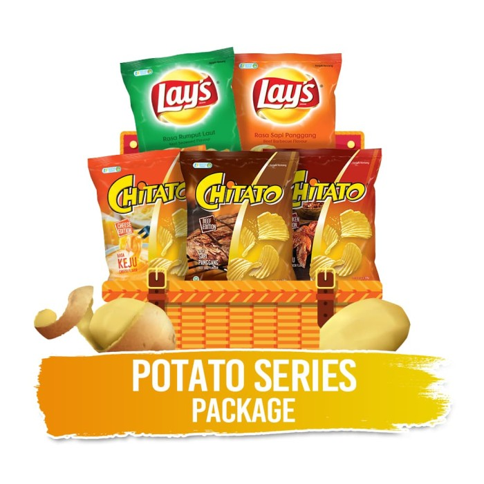 Potato Series Package - Blanja.com