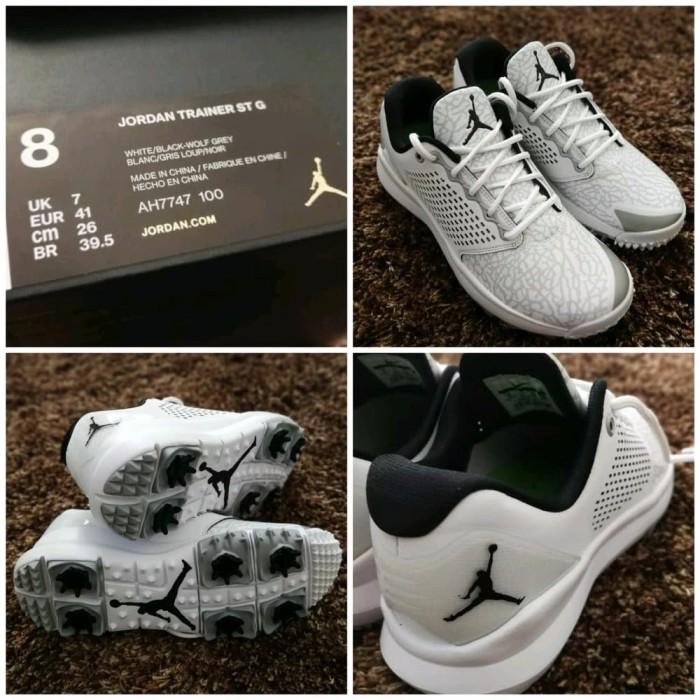 b3512853e2d Perlengkapan Golf Sepatu Golf Nike Limited Jordan Trainer Stg White T. Toko  dalam status moderasi