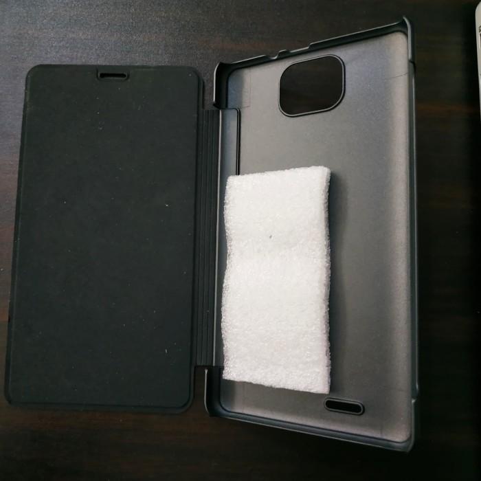 Leather Case Advan S6a Merah - Info Harga Terkini dan